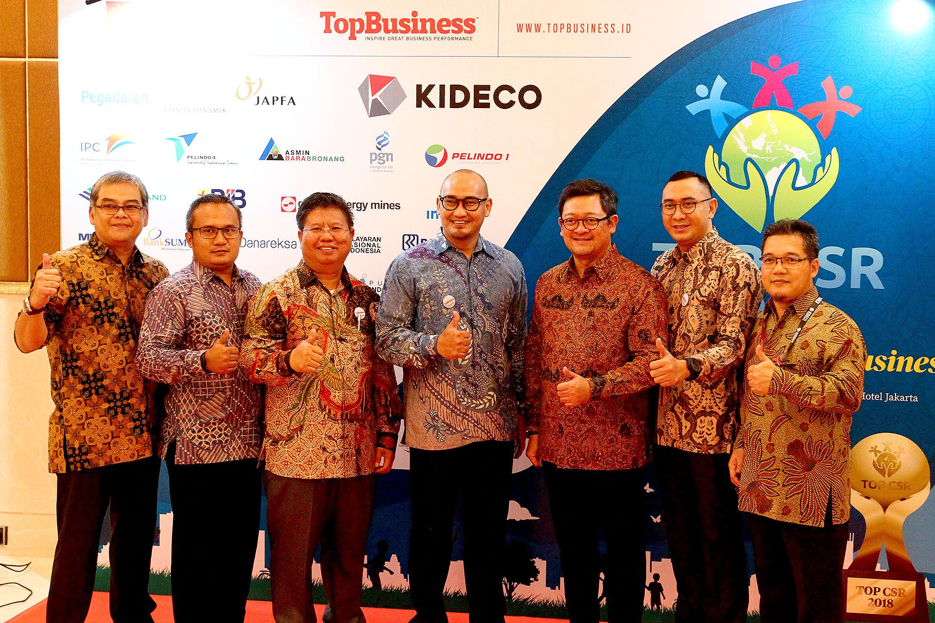 Penghargaan Untuk Kategori CSR